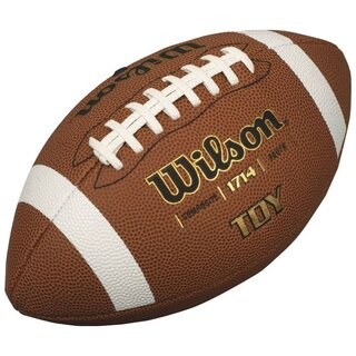 Wilson Junior Football TDY Youth Size WTF 1714X - braun