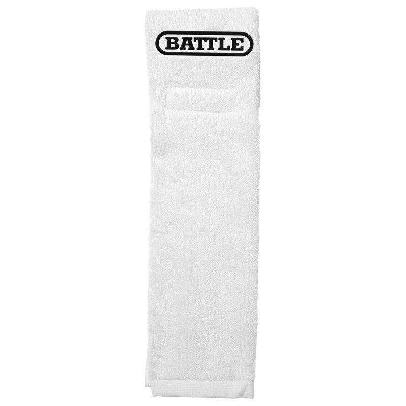 BATTLE American Fottball Field Towel, Handtuch - weiß