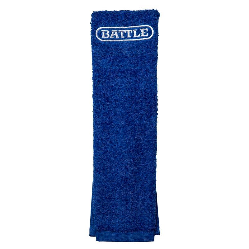 BATTLE American Fottball Field Towel, Handtuch - royal