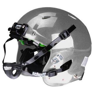 Schutt Vengeance A11+ Jugend Helm bis 17 Jahre silber XL