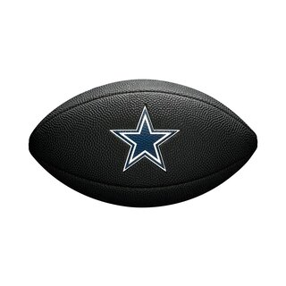 Wilson NFL Dallas Cowboys Logo Mini Football black