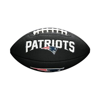 Wilson NFL New England Patriots Logo Mini Football black
