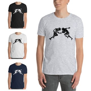 American Sports American Football Fanshirt, T-Shirt shattered tackle, P6