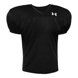 Under Armour Pipeline American Football Practice Jersey - schwarz Gr. M
