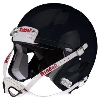 Riddell Victor-i Jugend Helm bis 15 Jahre (ohne Facemask), Größe L/XL - schwarz