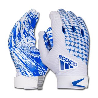 adidas adiFAST 2.0 American Football Receiver Gloves, Youth