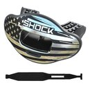Shock Doctor Max AirFlow 2.0 Chrome Silver Flag...