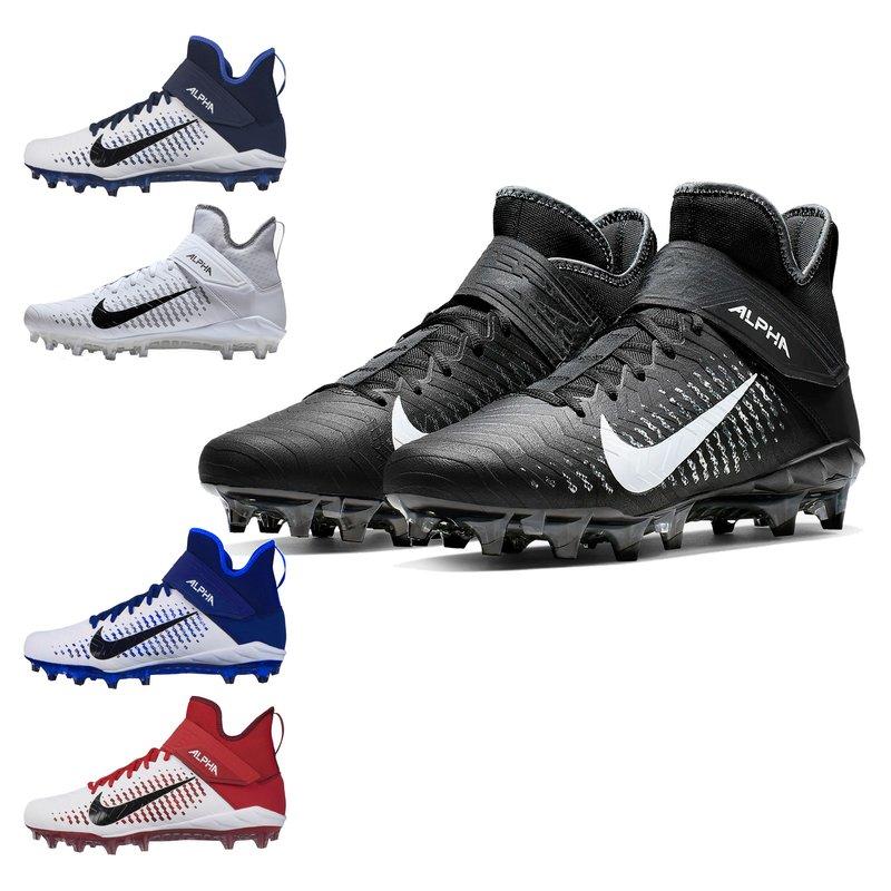 Nike Alpha Menace Pro 2 Mid American Football Lawn Shoes
