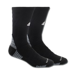 adidas Alphaskin Maximum Cushioned Crew Socken - schwarz Gr. L