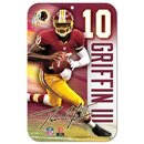 Wincraft NFL Schild Robert Griffin / Washington altes Logo
