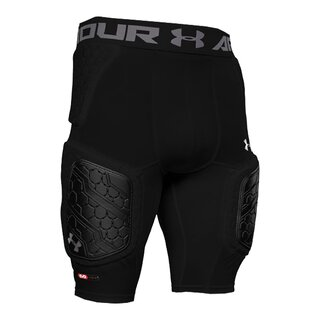 Under Armour Gameday Armour Pro 5 Pad Girdle - schwarz Gr. S