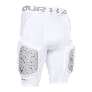 Under Armour Gameday Armour Pro 5 Pad Girdle Design 2019 - weiß Gr. S