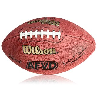 Wilson Football AFVD Game Ball, Senior, deutscher Spielball