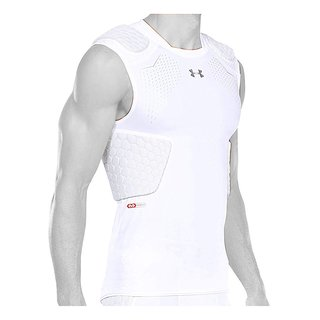 Under Armour Gameday Armour PRO 5 Pad Top - weiß Gr. XL