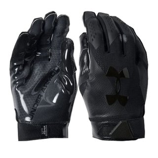 Under Armour Spotlight American Football Receiver Gloves - black size S