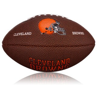 Wilson NFL Mini Cleveland Browns Logo Football