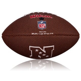 Wilson NFL Mini Detroit Lions Logo Football