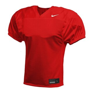Nike Stock Recruit Practice Football Jersey - rot Gr. S