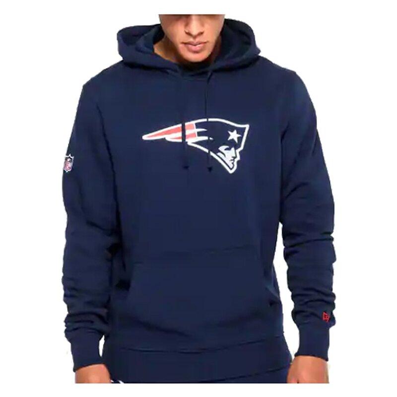 New Era New England Patriots Chest Print Logo Hoody