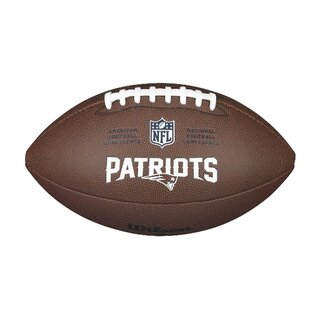 Wilson NFL Composite Team Logo Football New England Patriots