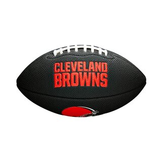Wilson NFL Cleveland Browns Logo Mini Football black