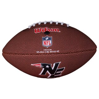 Wilson NFL Mini New England Patriots Logo Football