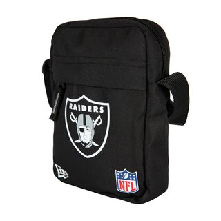 New Era NFL Side Bag Oakland Raiders, Umhängetasche schwarz