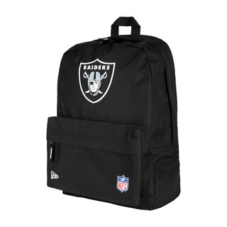 New Era NFL Stadium Backpack Oakland Raiders, Rucksack schwarz