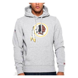 New Era NFL Team Logo Hood Washington Redskins grau - Gr. XL