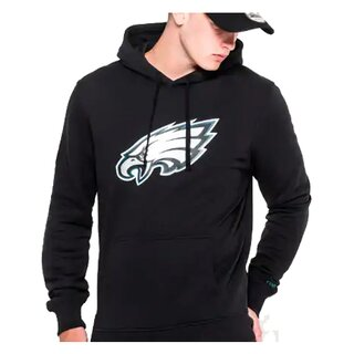 New Era NFL Team Logo Hood Philadelphia Eagles schwarz - Gr. 2XL
