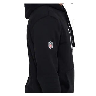 New Era NFL Team Logo Hood Oakland Raiders schwarz - Gr. L
