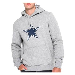 New Era NFL Team Logo Hood Dallas Cowboys grau