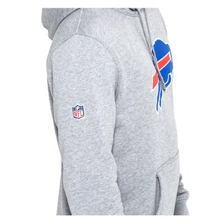 New Era NFL Team Logo Hood Buffalo Bills grau - Gr. 2XL