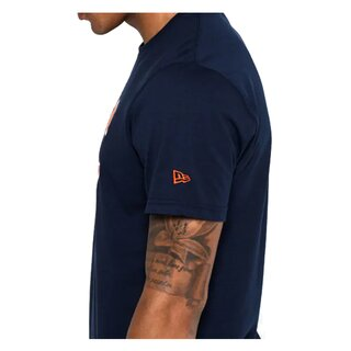 New Era NFL Team Logo T-Shirt Chicago Bears navy - Gr. M