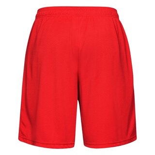 Under Armour Tech Mesh Shorts Knielang - rot Gr. M