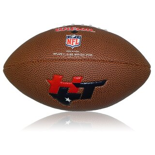 Wilson NFL Mini Houston Texans Logo Football