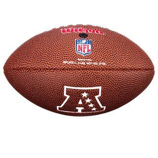 Wilson NFL Mini Las Vegas Raiders Logo Football