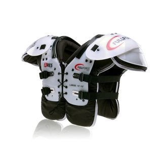 Full Force Wear American Football Ares Youth Multi Position LB/RB/OL/DL Shoulderpad, Gr. S