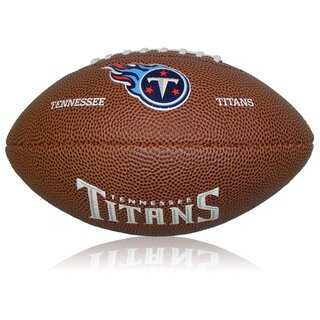 Wilson NFL Mini Tennessee Titans Logo Football