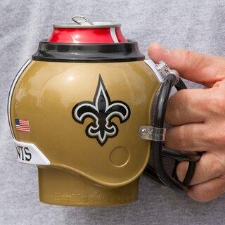 Faux Whip Mug Topper Saints Football NOLA
