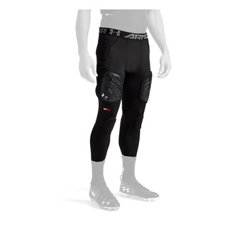 Game Day Armour Pro 7 Pad 3/4 Tight Girdle - schwarz Gr. XL