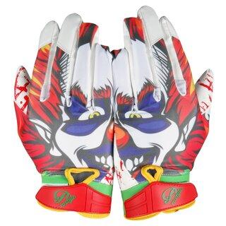 Prostyle Clown American Football Receiver Handschuhe - Gr. YM