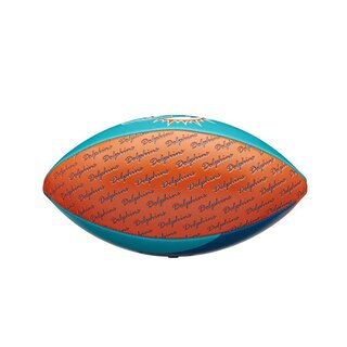 Wilson NFL Peewee Football Team Miami Dolphins