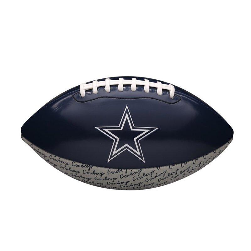 wilson nfl peewee football team dallas cowboys, wtf1523xbdl, 22,90 €  american footballshop