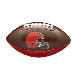 Wilson NFL Peewee Football Team Logo Cleveland Browns
